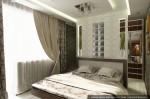 Спальня. Дизайн интерьеров коттеджа