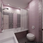 Дизайн квартиры в современном стиле. Интерьер ванной