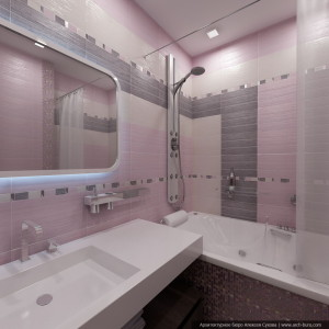 Дизайн квартиры в современном стилеДизайн квартиры в современном стиле. Интерьер ванной