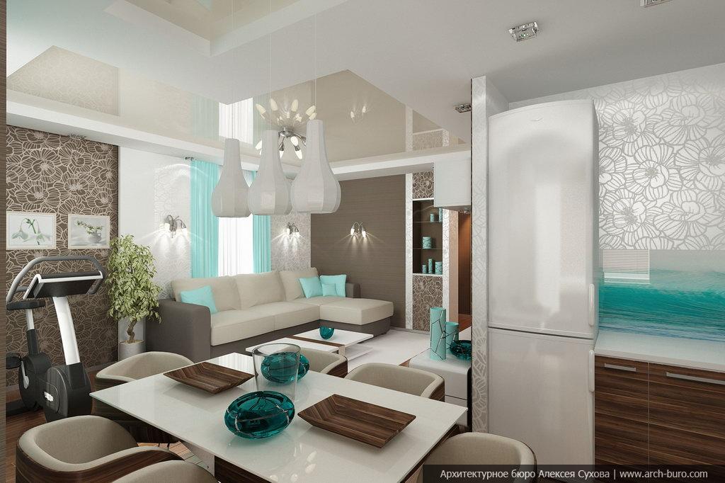 Услуги дизайнера квартир, студия дизайна интерьера в екатери.