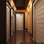 Дизайн интерьера ХМАО г. Урай. Дизайн прихожей и коридора