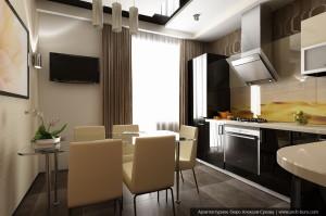 Дизайн интерьера ХМАО г. Урай. Дизайн кухни