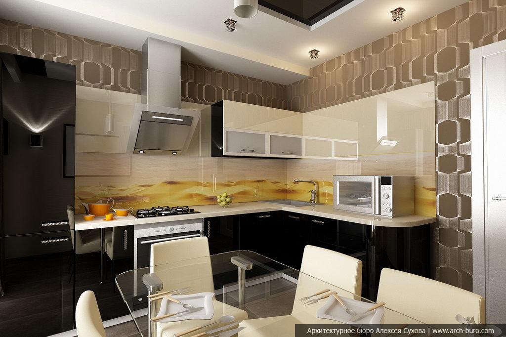 Фото дизайна кухни в квартире