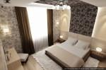 Дизайн квартиры в современном стиле. Интерьер спальни