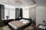 Дизайн интерьера дома-коттеджа. Гостевая спальня