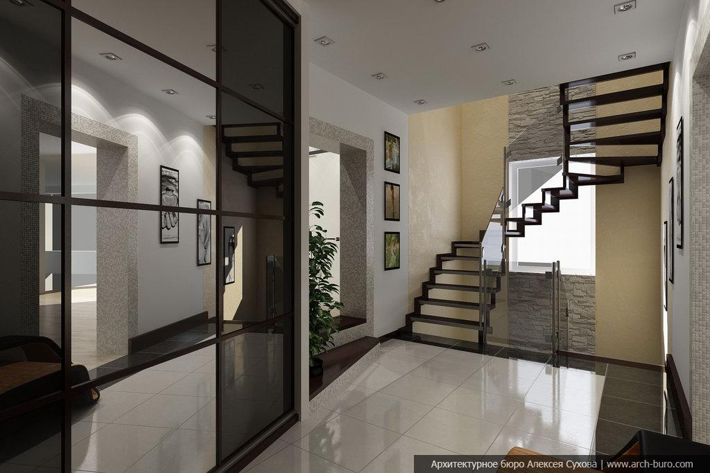 фото дизайн холла дома на втором этаже интересных фотографий симферополя