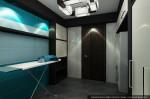 Дизайн интерьера дома-коттеджа. Цокольный этаж. Прачечная