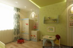 Студия дизайна интерера. Эскизный проект детской комнаты.