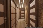 Студия дизайна интерера. Эскизный проект прихожей и коридора.