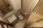 Студия дизайна интерера. Эскизный проект гостевого туалета.