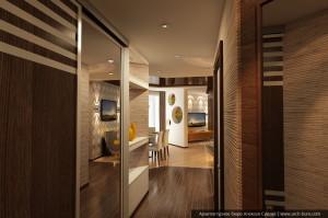 Услуги дизайнера квартир. Дизайн коридора