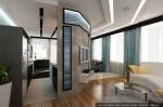 Услуги дизайнера в Санкт-Петербурге. Дизайн-проект кухни-столовой с диванной зоной отдыха