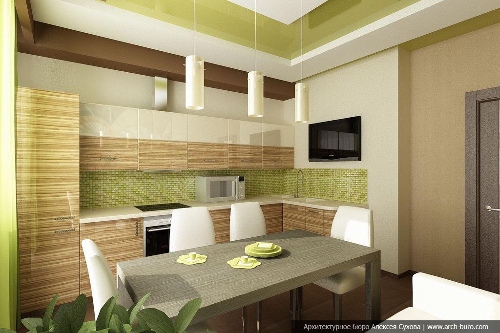 Дизайн кухни 11кв.м