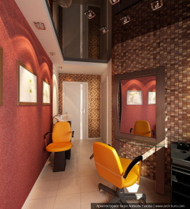 Дизайн парикмахерской