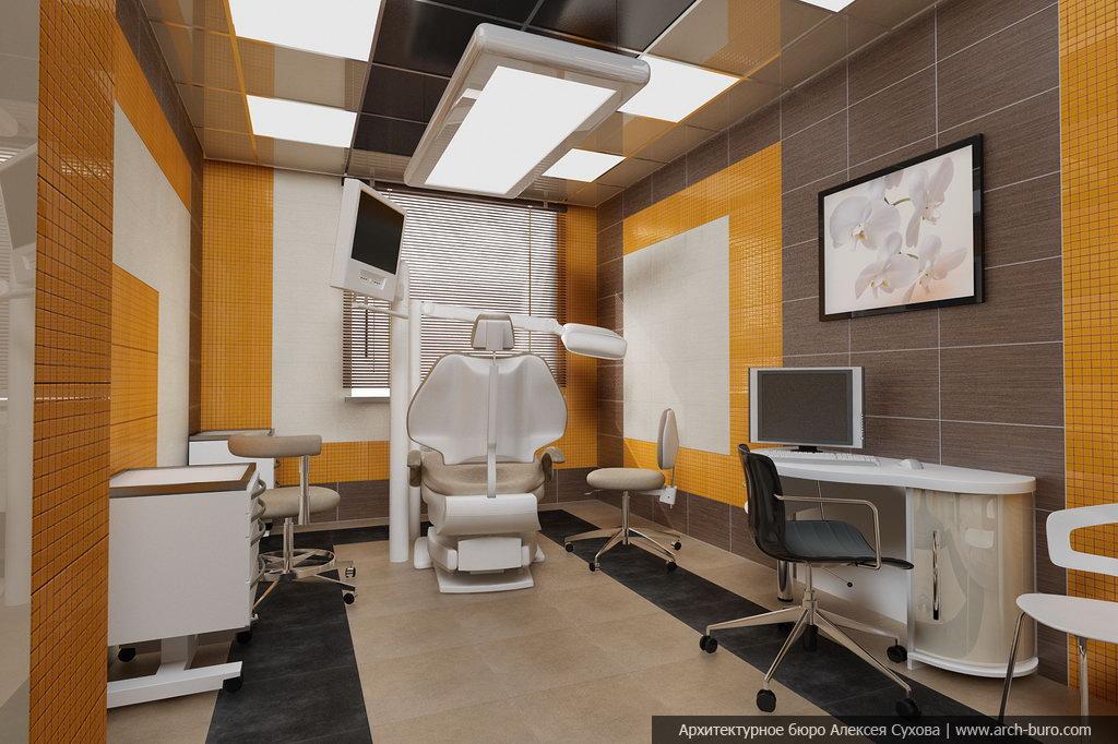 Интерьер к стоматологическому кабинету