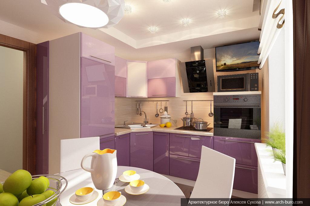 Дизайнер кухни маленькой