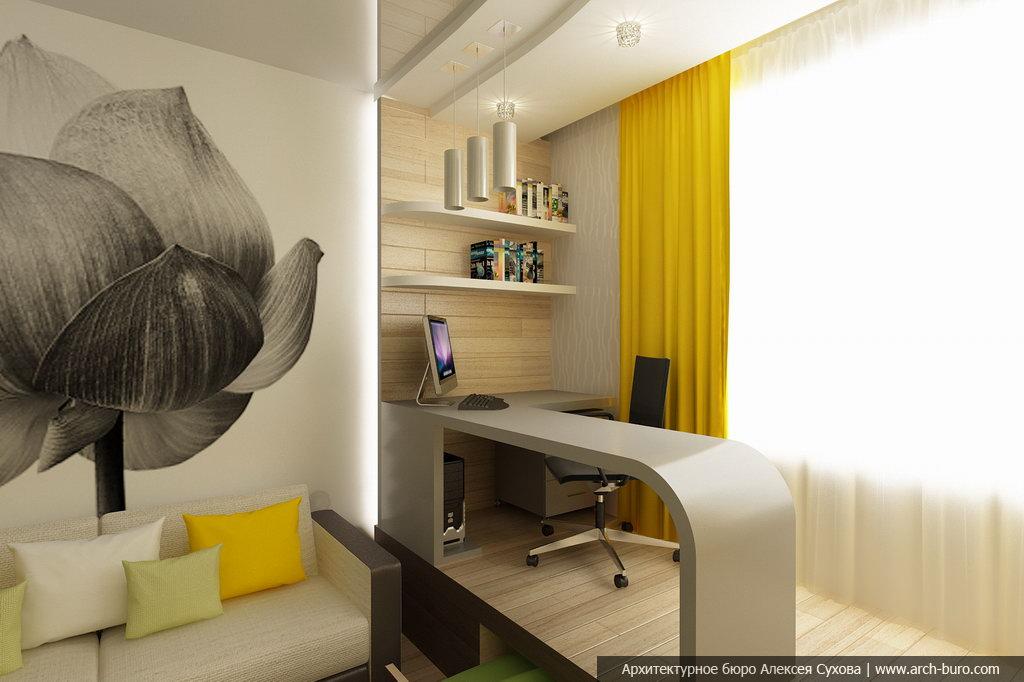 Современный дизайн, современный интерьер квартиры.