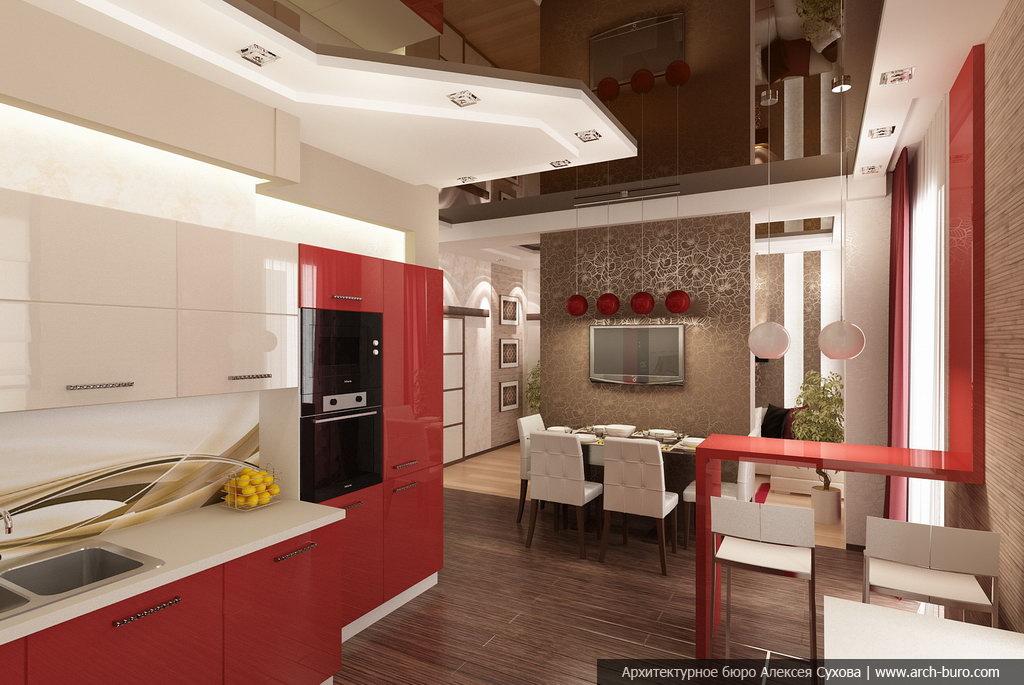 Дизайн интерьера квартиры с фото ванной комнаты и спальни.