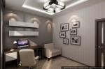 Интерьер трехкомнатной квартиры. Дизайн кабинета в квартире