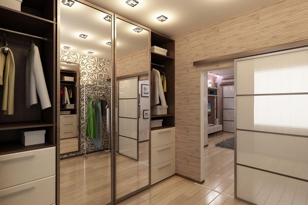 Дизайн интерьера трёхкомнатной квартиры в современном стиле.