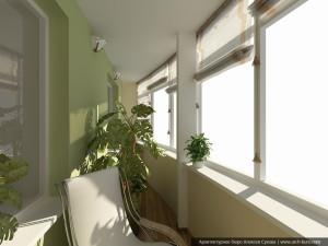 2-й этаж Балкон0000