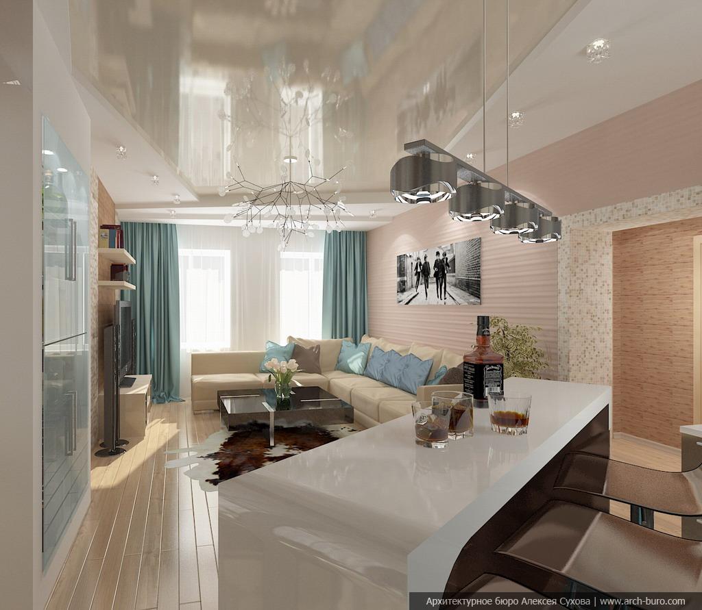 отмечены карте, потолок в гостиной совмещенной с кухней фото общежитие апатитского