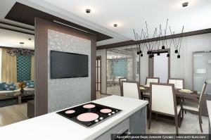 dizajn-doma-kottedzha-gostinaja-kuhnja-4