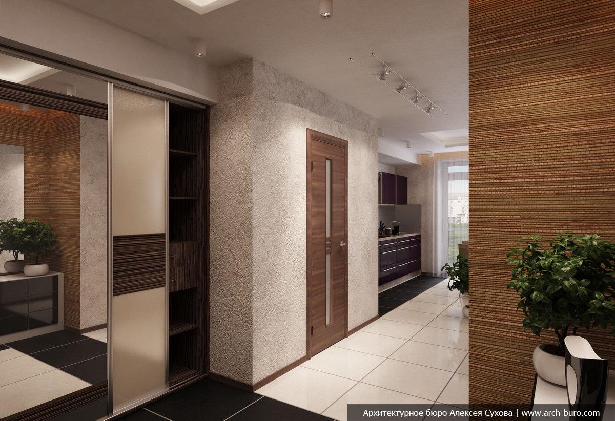 Архитектурное бюро совмещения лоджии и кухни.