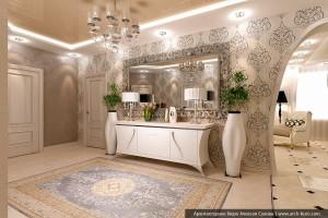 Дизайн холла дома