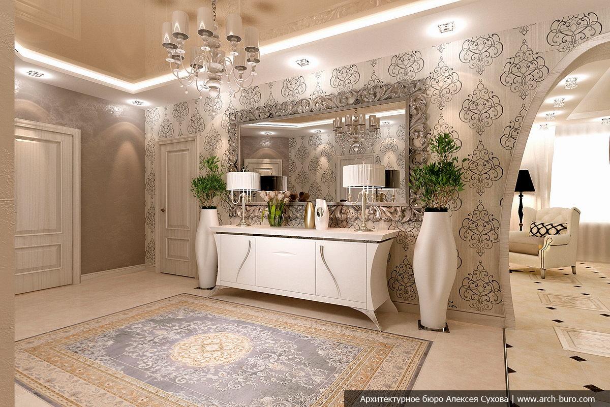 Дизайн проект холла