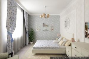 Спальня бабушки в частном доме