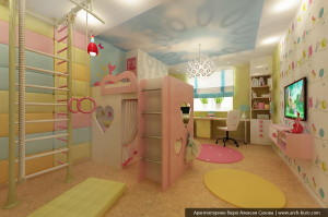 Интерьер детской в Киеве