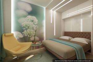 Интерьер спальни в квартире киев фото
