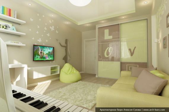 Дизайн комнаты для юной леди