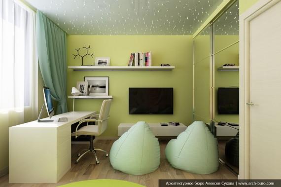 Детская. Дизайн 3 комнатной квартиры