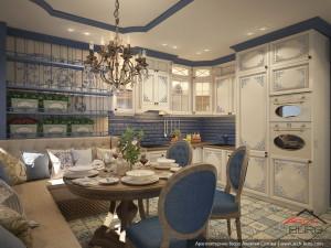 Дизайн кухни в ЖК Адмирал