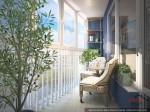 Шикарный балкон-лоджия в Адмирале