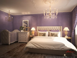 Дизайн спальни Адмирал на Юмашева