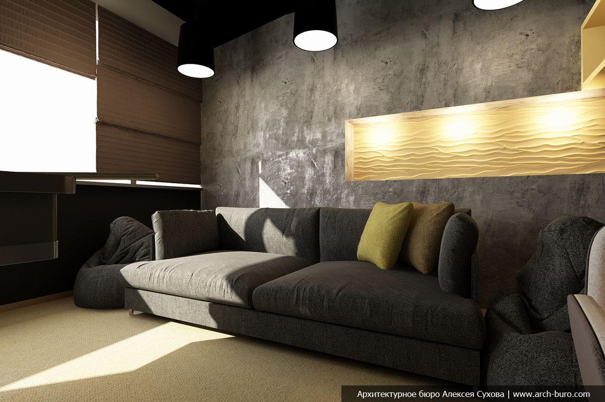 Современный интерьер комнаты / зала 432