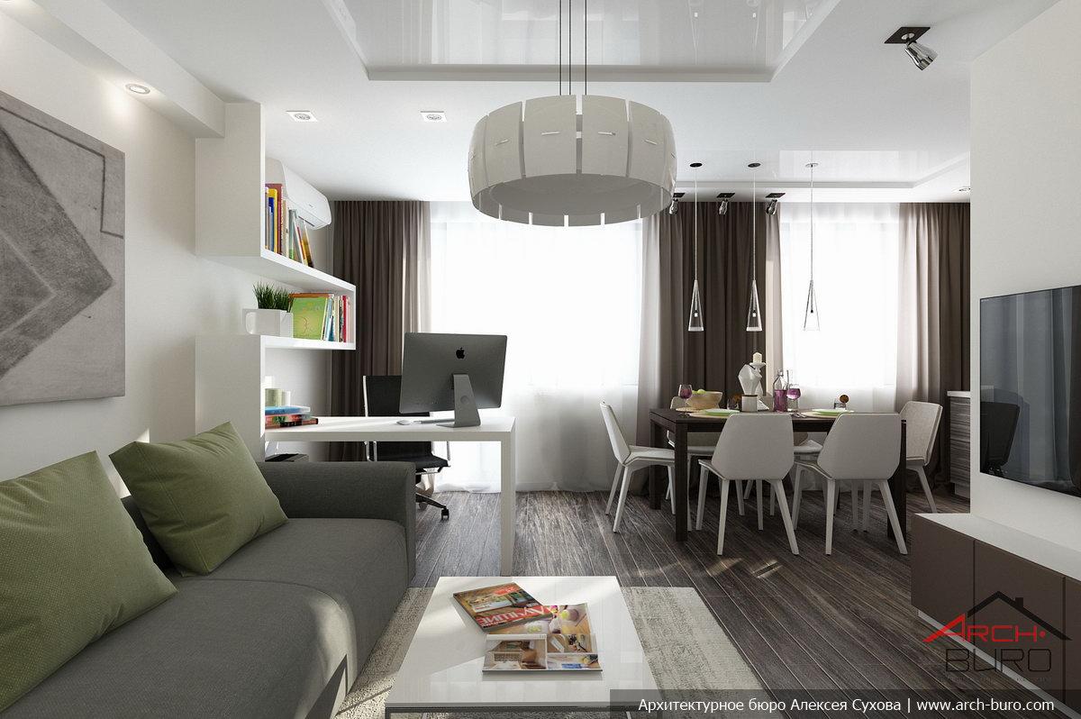 Дизайн проект и перепланировка квартиры в типовом панельном .