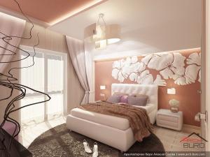 Дизайн спальной комнаты г. Серов