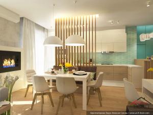 Проект столовой в квартире