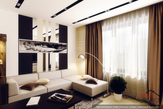 интерьеры домов и коттеджей, дизайнер Уфа