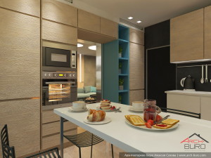 Кухня в Москве. Дизайн интерьера