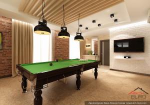 Спортзал. Дизайн проект интерьера дома