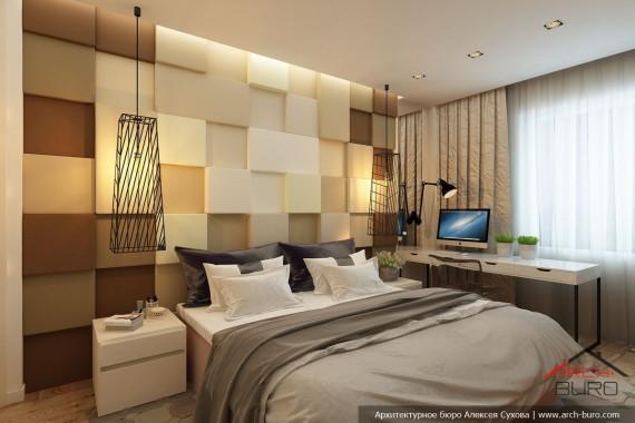Дизайн спальни родителей город Якутск