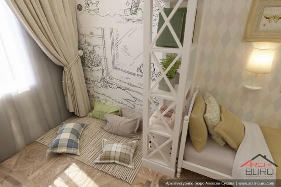 Квартира в г.Якутск детская спальня.