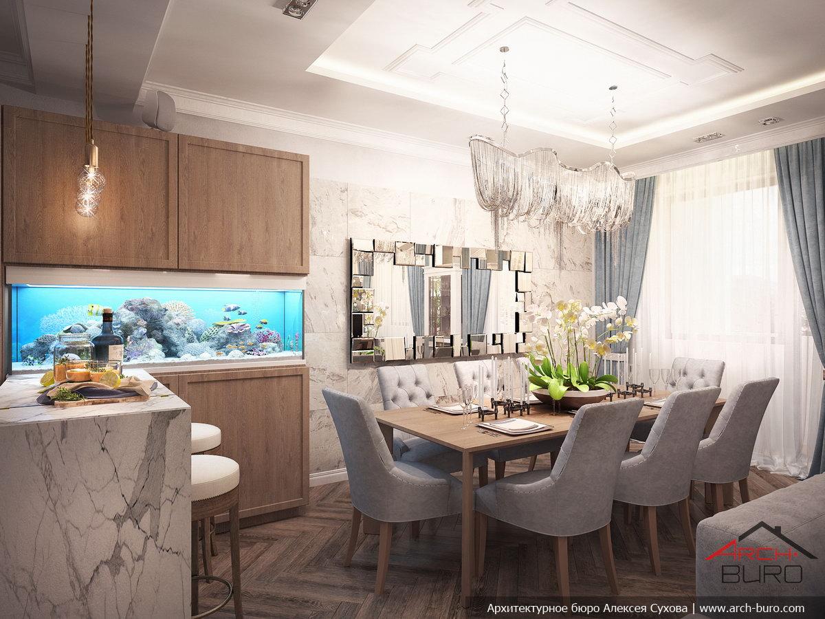 Дизайн-проект квартиры в ереване