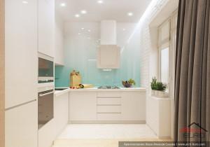Дизайн кухни в жилье для молодых