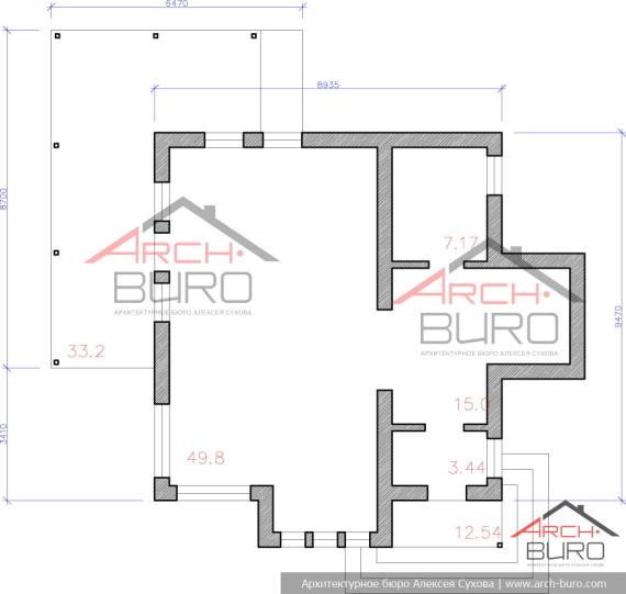 Общий план дома